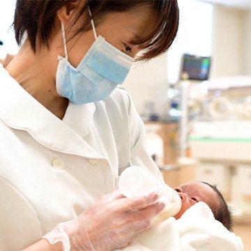 赤ちゃんに<br>やさしい病院