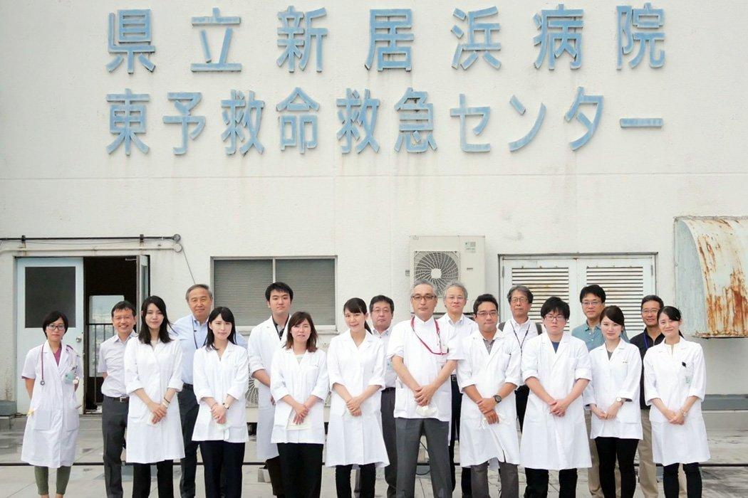 愛媛県立新居浜病院見学ツアー